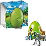 Playmobil - 4931 - Jeu de construction - OEuf 2012 Bébés animaux avec soigneur