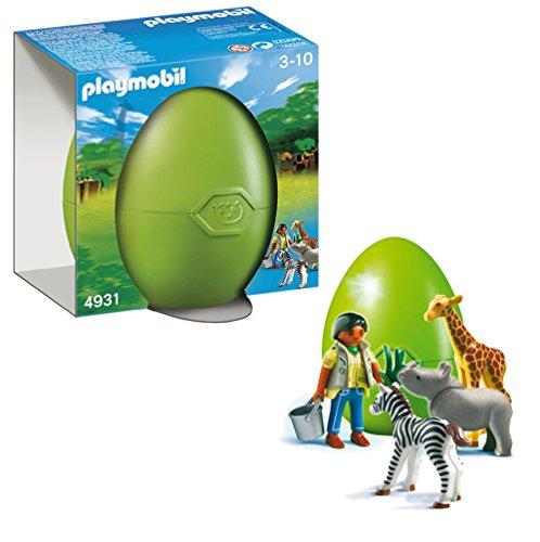 Playmobil 626580 - Huevo Animales Bebé Y Cuidador
