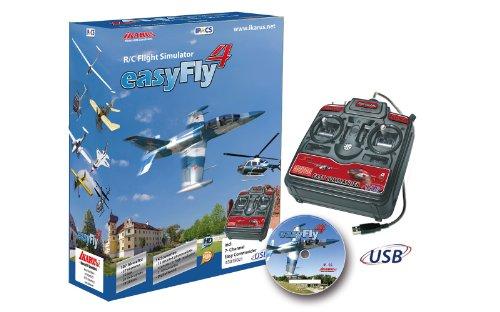Imagen 1 de Jamara 65161 EasyFly 4 - Simulador de vuelo con Game-Commander[Importado de Alemania]