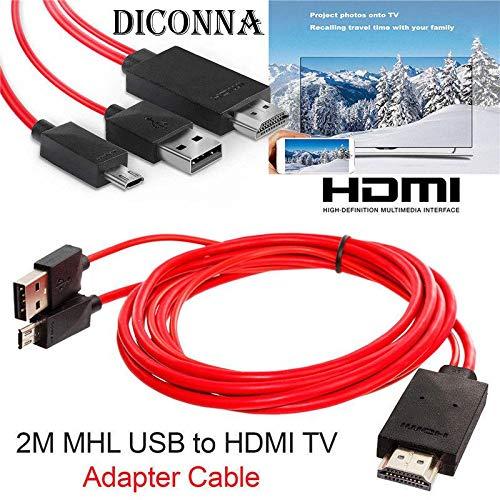 tablet tv HOUSE CLOUD Cavo da Micro USB a HDMI-MHL 1
