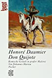 Image de Honoré Daumier: Don Quijote: Komische Gestalt in großer Malerei