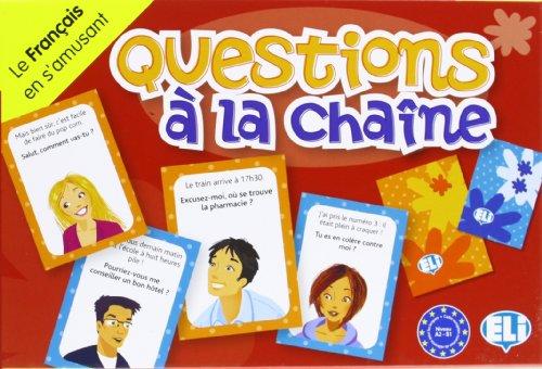 Questions à la chaine. Per la Scuola media (Giochi didattici) por Dominique Guillemant