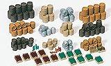 Preiser 17105 Beer Barrels Crates Etc