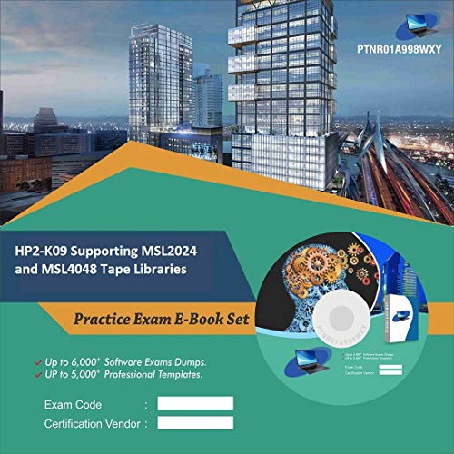 HP2-K09 Supporting MSL2024 and MSL4048 Tape Libraries Complete Video Learning Certification Exam Set (DVD)