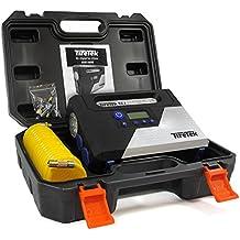 TireTek RX-i Inflador de neumáticos Digital –12V 160W compresor de aire portátil 40 l/m con desconexión automática