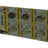 Pack de 10 Vinnic L1154F / LR44 / AG13 1.5V ALKALINE
