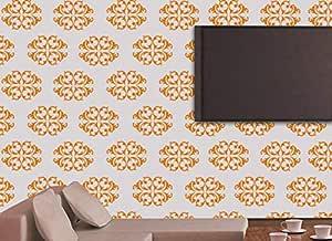 Gallerist DIY Wall Painting Stencil Wall Stencils for Wall Painting, 1 Stencil (Size 12x12 inches) | Reusable
