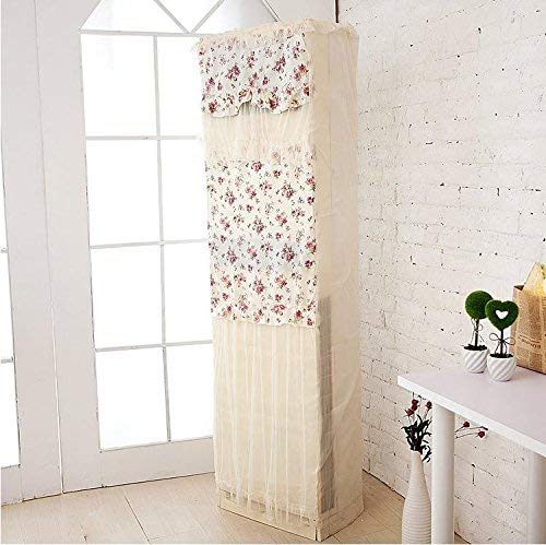Giow T/C Fabrics Lace Air - Airconditioning Cover Lace Cabinet Hood, Nachtkerze, 50 * 30 * 175 Lace Hood