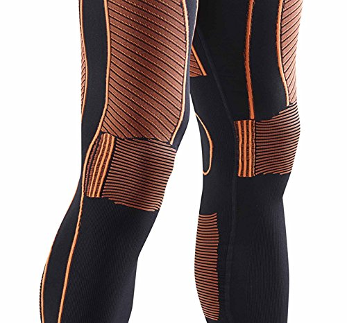 X-Bionic Erwachsene Funktionsbekleidung Man EN Accumulator UW Pants Long black/orange