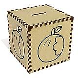 Groß 'Angebissenen Apfel' Sparbüchse / Spardose (MB00046012)