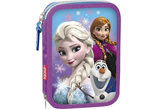 Plumier Frozen Disney Snow Dots Doble
