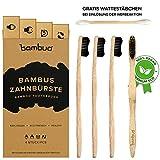 Best Cepillos de madera - Juego de 4 Bambú Cepillo de dientes · Review