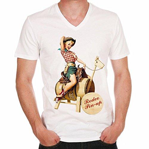 rodeo-pin-up-girl-h-t-shirtcadeauhomme-czlzbritzblanc-mt-shirt-homme
