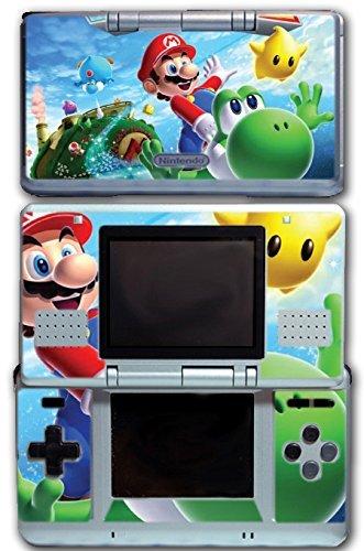 Super Mario Galaxy 2 Yoshi Flying Star Video Game Vinyl Decal Skin Sticker Cover for Original Nintendo DS System by Vinyl Skin Designs