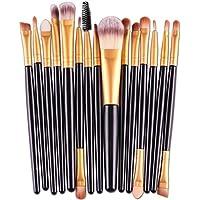 VEHOM 15 pcs/Sets profesional Brochas Maquillaje Pincel de maquillaje Sets de brochas Brochas para