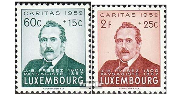 Francobolli per i Collezionisti Prophila Collection Lussemburgo 501-502 1952 Caritas