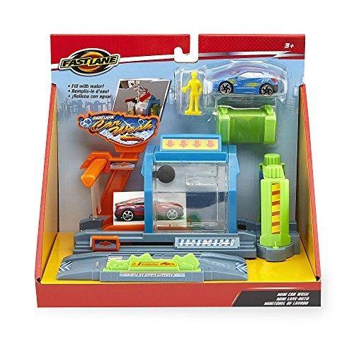 Fast Lane Mini Car Wash Playset by Toys R Us