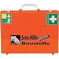 Söhngen 0360101 Erste-Hilfe-Koffer SPEZIAL, Baustelle, B 40 x H 30 x T 15 cm, orange preisvergleich bei billige-tabletten.eu