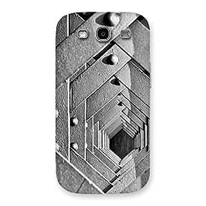 Impressive Block Cage Back Case Cover for Galaxy S3