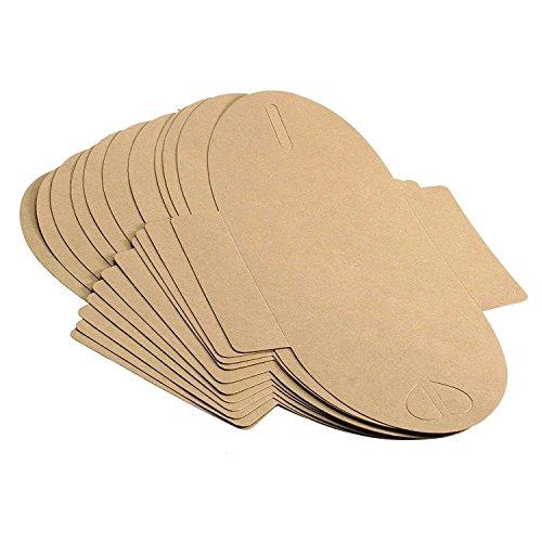 Kraftpapier Briefumschläge | 50 Stück - 5