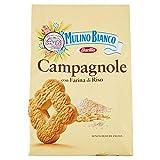 Mulino Bianco Biscotti Frollini Campagnole, Colazione Ricca di Gusto - 700 gr