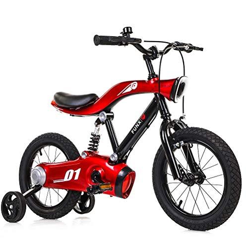 ZGYQGOO Laufrad für Kinder von 2 bis 6 Jahren Kids First Running Laufrad mit Bremsen und Luftreifen 12 Zoll Cabrio 2 in 1 Sport Edition