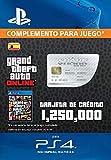 Grand Theft Auto Online - GTA V Cash Card | 1,250,000 GTA-Dollars | Código de descarga PS4 - Cuenta...