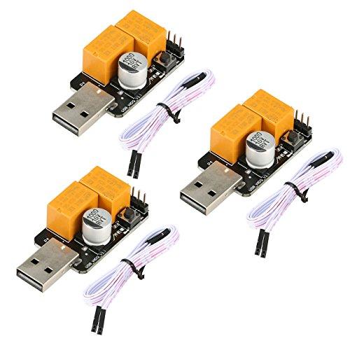 YIKESHU Macchina da Miniera dedicata USB watchdog Scheda Computer Crash Riavvio Automatico Reset Automatico Scheda di riavvio (ammiraglia Rossa)