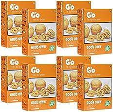 GO Organic Light Broken Walnuts (Akhrot Giri) 250 gm Pack of 8