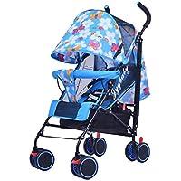 Baby carriage Carrito De Bebé Puede Sentarse/Mentir Plegable Modelos Respirables Ultralight Portátil Espuma EVA