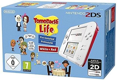 Tomodachi Life 3ds - Nintendo 2DS - weiss + Tomodachi Life