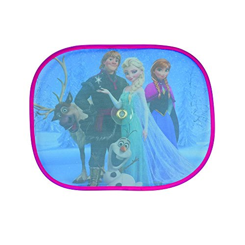 Disney 7123019 Sonnenschutz Frozen Family, 2 Stück