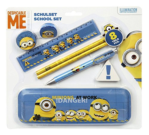 Undercover MNOH6453 - Schulset Minions, 8-teilig