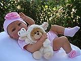 Antonio Juan Reborn Baby Emelie Vollvinyl,53cm,anatomisch Mädchen,Babypuppe,Spielpuppe,Sammlerpuppe,Reborn