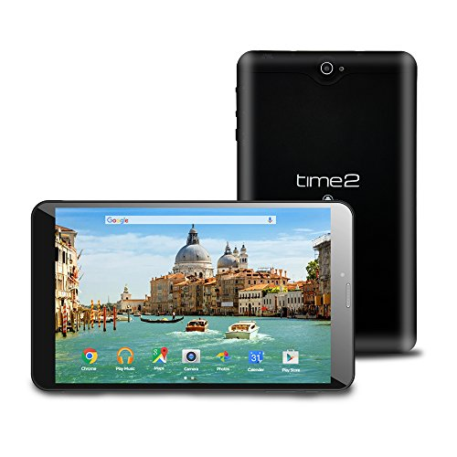 Time2 8' Tablet PC 3G/WiFi - Android 7.0 Nougat -...