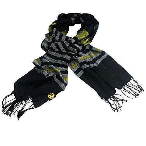 BVB Herren Schaltuch, schwarz/grau/gelb, One size, 2466629