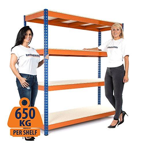 heavy-duty-garage-rack-650-kg-udl-scaffalatura-1800-mm-h-x-1800-mm-w-x-600-mm-d-colore-consegna-il-g