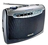 Philips AE2160 Radio Portable avec Prise Casque, Alimentation Piles (2xLR20) ou...