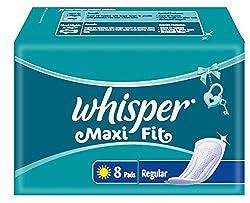 Whisper Maxi Fit Regular - 8 Pads