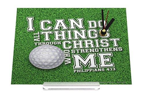 orologio dello scrittorio Motivo Nostalgico golf