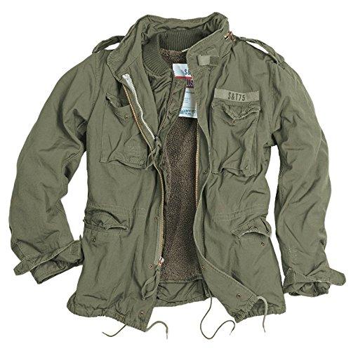 Delta Giant Herren M65 Regiment Jacke (XL, Oliv)