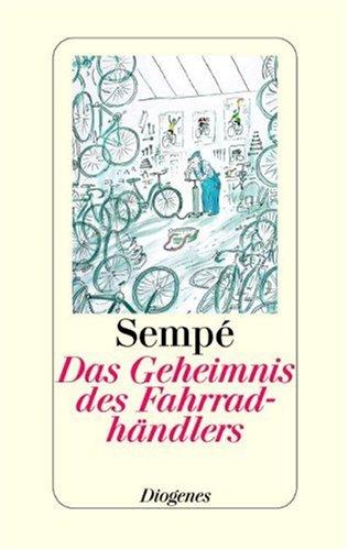 Buchseite und Rezensionen zu 'Das Geheimnis des Fahrradhändlers' von Jean-Jacques Sempé