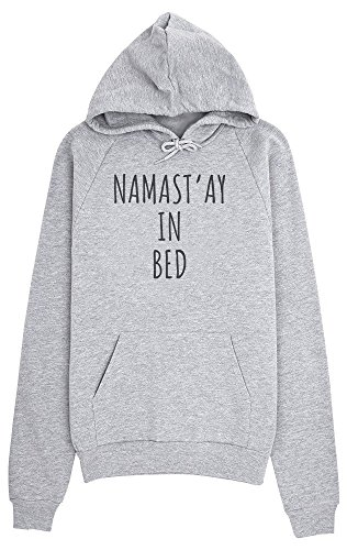 NAMAST'AY IN BED Namaste Stay Sleep Women's Hoodie Pullover Frauen Kapuzenpullover