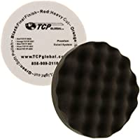 8 Black Waffle Extra Fine Foam Finishing