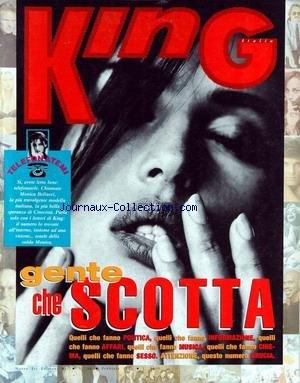 KING ITALIA [No 36] du 01/02/1991 - TELEFONATEMI - GENTE CHE SCOTTA - QUELLI CHE FAMO POLTICA - QUELLI CHE FANNO INFORMAZIONE - AFFARI - MUSICA - CINEMA - SESSO - BRUCIA.