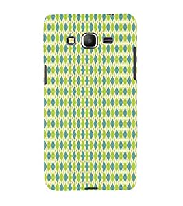 Fiobs Designer Phone Back Case Cover Samsung Galaxy Grand Prime :: Samsung Galaxy Grand Prime Duos :: Samsung Galaxy Grand Prime G530F G530Fz G530Y G530H G530Fz/Ds ( Light Green Colorful Pattern Design )