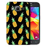 Fancy Hard Case Cover For Samsung Galaxy Core Prime G360F - black pineapple