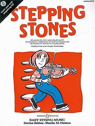Stepping Stones: 26 Stücke für Anfänger. Violine. Ausgabe mit CD.: 26 Pieces for Beginners (Easy String Music)