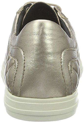 Geox Damen D Amalthia D Sneakers Gold (CHAMPAGNECB500)