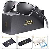 Carfia Polarisierte Herren Sonnenbrille UV 400 Schutz Sportbrille für...